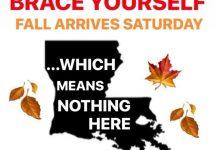 Brace Yourself Fall Arrives Saturday