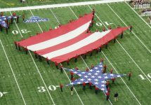 American Flag Halftime Show