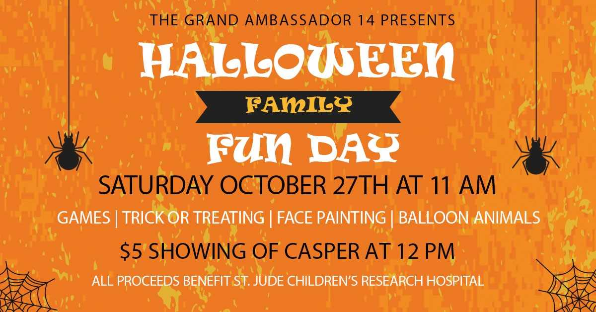 Halloween Family Day At The Grand Theatre Big 1021 Kybg Fm
