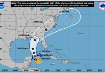 tropical storm michael track