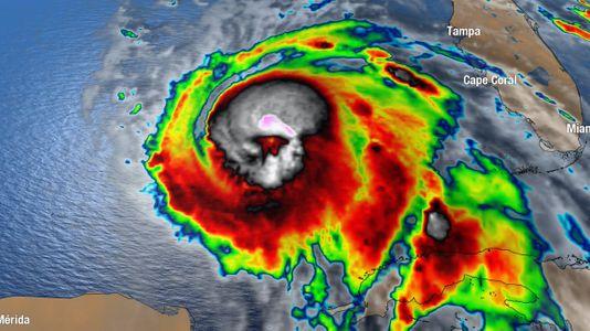 hurricane michael skull