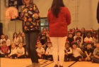teacher sing 12 days of Christmas