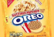 butter popcorn oreo