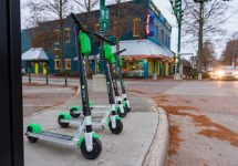 bird lime scooters downtown lafayette