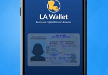 la wallet digital license
