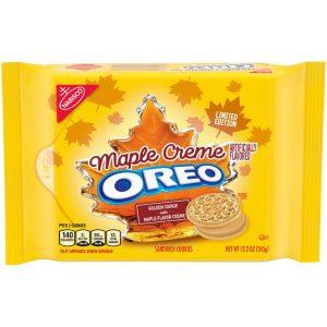 Oreo Maple Cream