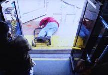 man pushed from bus in Las Vegas