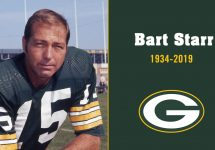 Green Bay packers Bart Starr Dies at 85