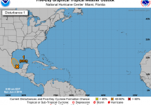 tropical disturbance