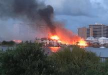 fire at orange beach condominiums