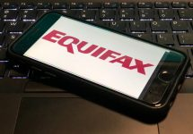 Equifax Logo on Phone