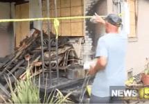 major handy house fire