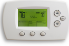 thermostat set at 78