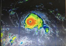Hurricane Dorian Color Satellite September 1 1pm