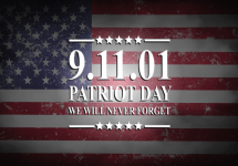 patriot day never forget banner