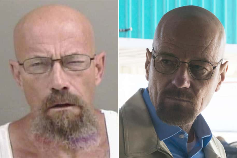 Todd Barrick Walter White side by side