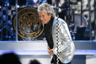 Rod Stewart on stage