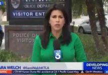 KTLA Reporter Sara Welch