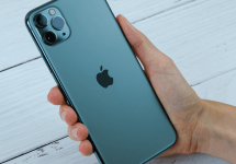 Iphone 11 in hand
