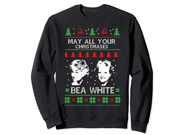 may all your christmases bea white golden girls ugly