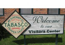 Tabasco Visitors Sign