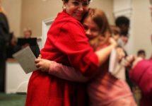 Gayle Benson Surprises Kids