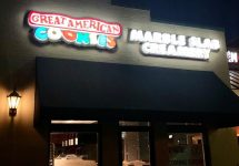 Great American Cookies and Marble Slab Creamery New Iberia