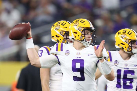 Joe Burrow LSU Quarterback