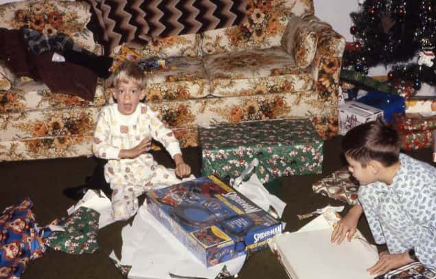 Christmas Morning 1980