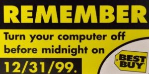 Y2K Best Buy Sticker