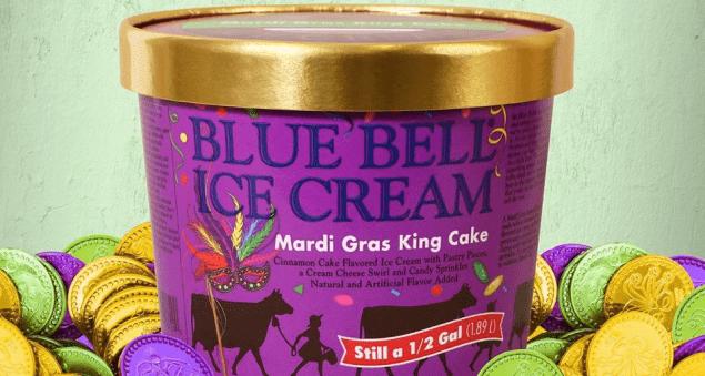 Mardi Gras King Cake Ice Cream Is Back Big 102 1 Kybg Fm