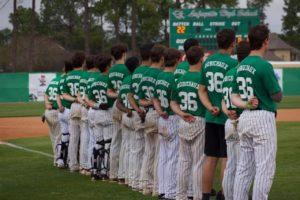 Lafayette High Baseball Players Wearing Tony Robichaux Jerseys