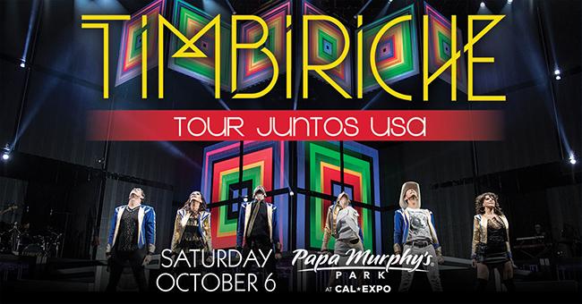 TIMBIRICHE JUNTOS US TOUR