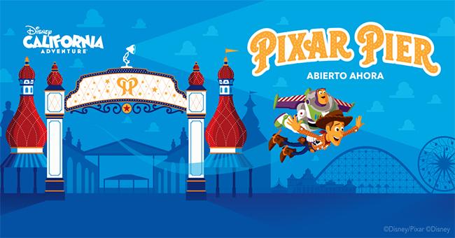 La Buena 92.1 FM quiere que disfrutes el reimaginado Pixar Pier en Disney California Adventure Park.