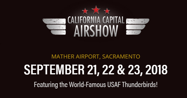CALIFORNIA CAPITAL AIRSHOW 21, 22, 23 DE SEPTIEMBRE EN MATHER AIRPORT, SACRAMENTO