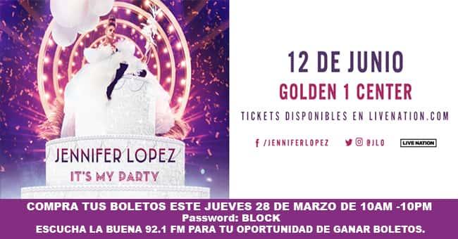 """Jennifer Lopez """"It's My Party Tour"""""""