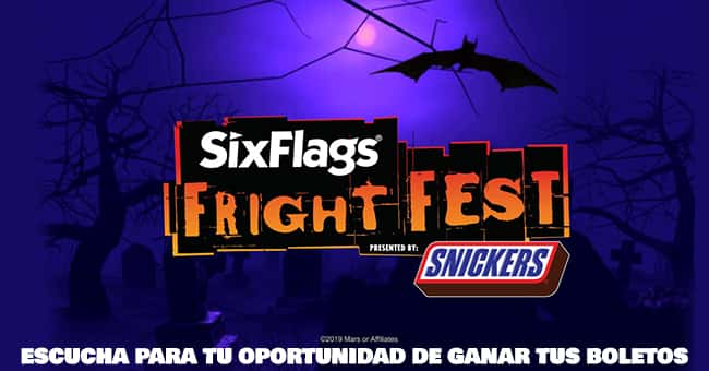 SIX FLAGS FRIGHT FEST - SIX FLAGS DISCOVERY KINGDOM