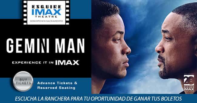 GEMINI MAN: UNA EXPERIENCIA IMAX EN EL ESQUIRE IMAX THEATRE DEL DOWNTOWN SACRAMENTO
