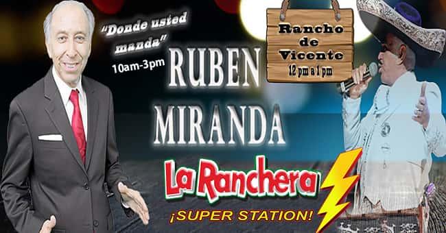 "Rubén Miranda ""Donde Usted Manda"""