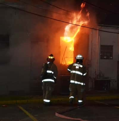 Fire does major damage to News Gazette building | K105
