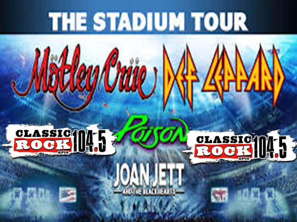 Get set to win tickets for Def Leppard/Motley Crue in S.A.