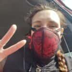 20200416_100948: Liv LaRue corset mask