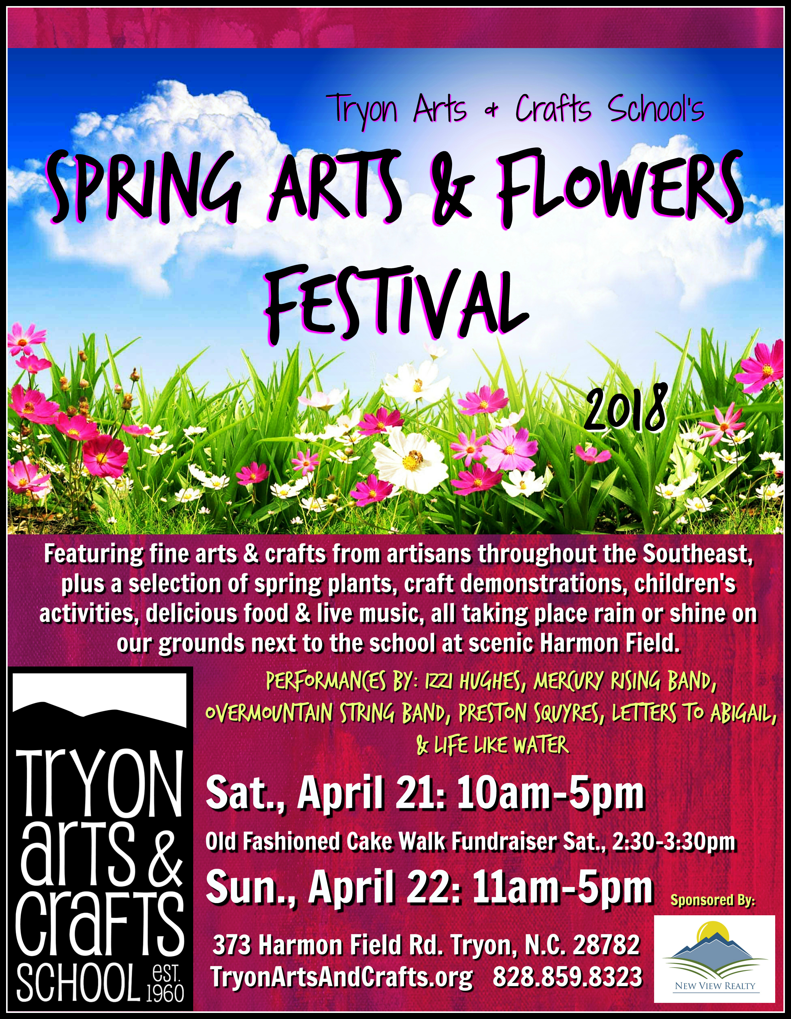 Tryon Arts Crafts School S Spring Arts Flowers Festival Wtzq