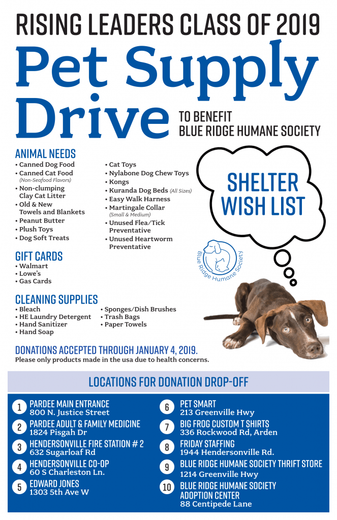 Pet Supply Drive to benefit Blue Ridge Humane Society | WTZQ