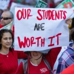 Over 3000 Teachers Hit The Picket Line In Oakland, California Strike