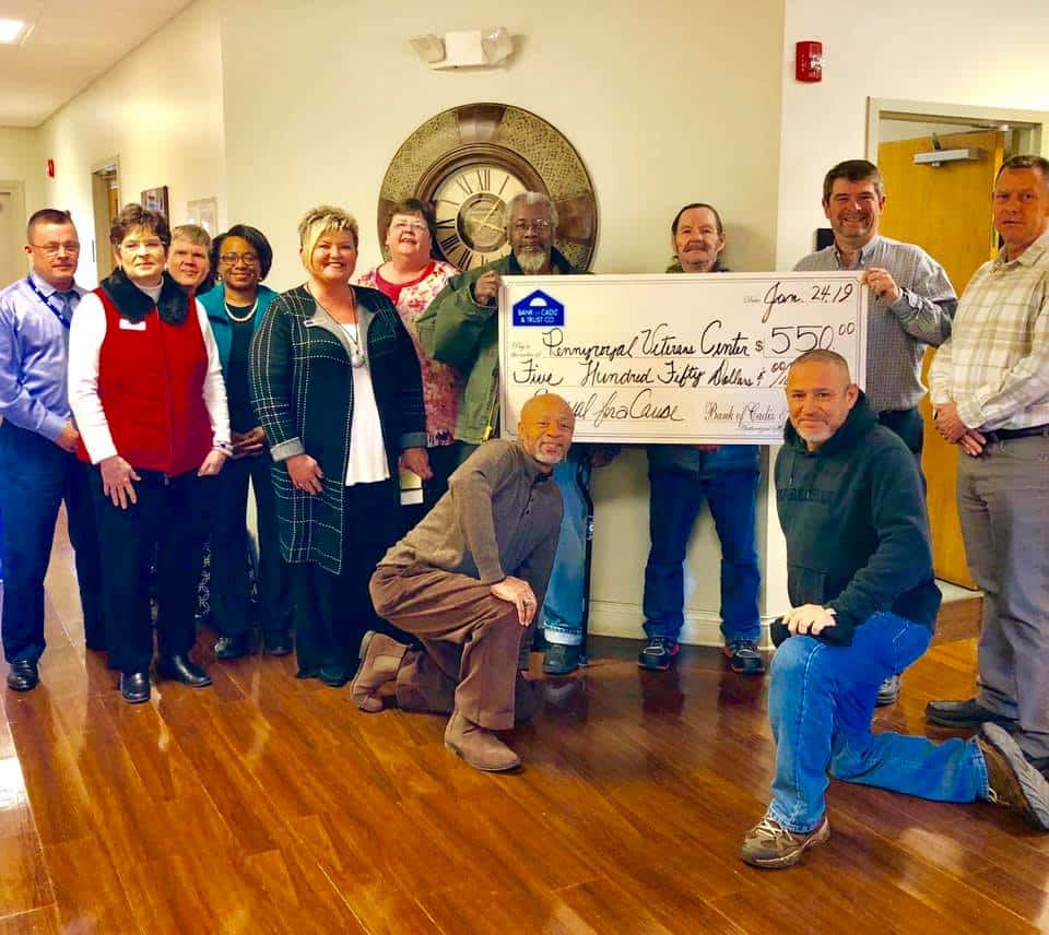 Cadiz Kentucky Weather: Bank Employees Dress Casual For A Cause