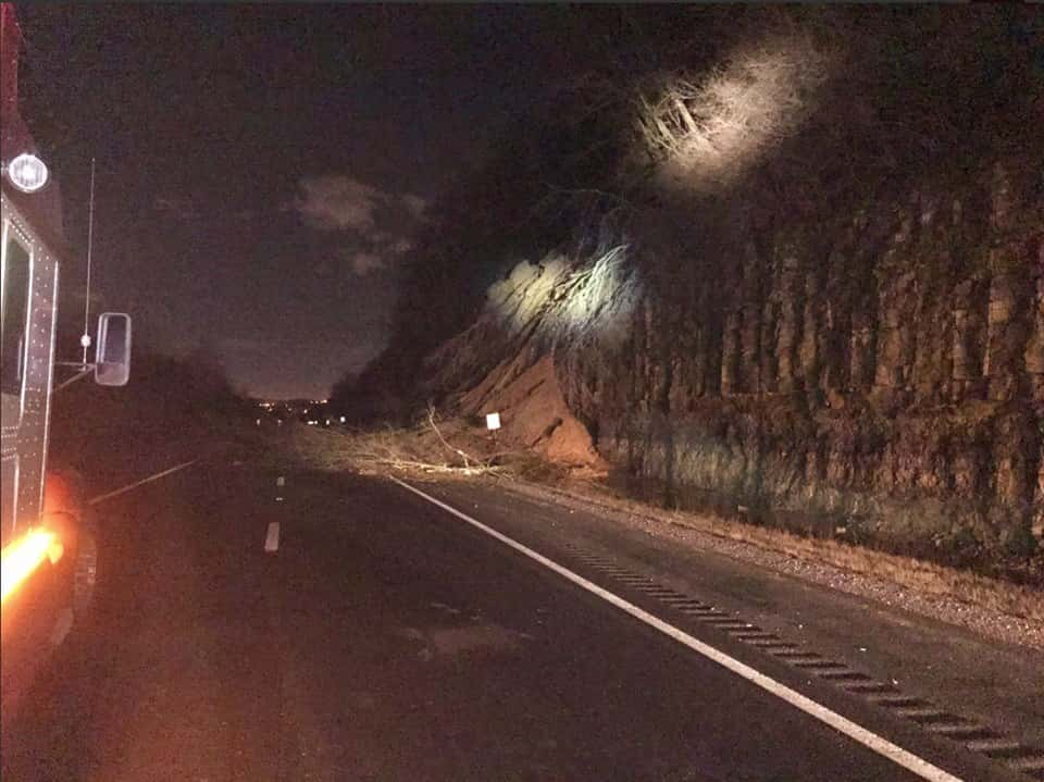 Crews Continuing To Clean Up Landslide On I-24 East In TN