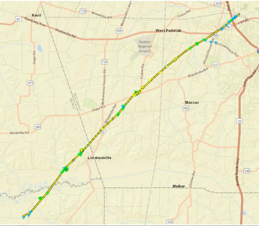 Cadiz Kentucky Weather: NWS Confirms 4 Tornadoes Touched Down In KY Thursday