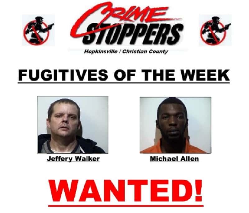 Cadiz Kentucky Weather: Crime Stoppers Fugitives Of The Week
