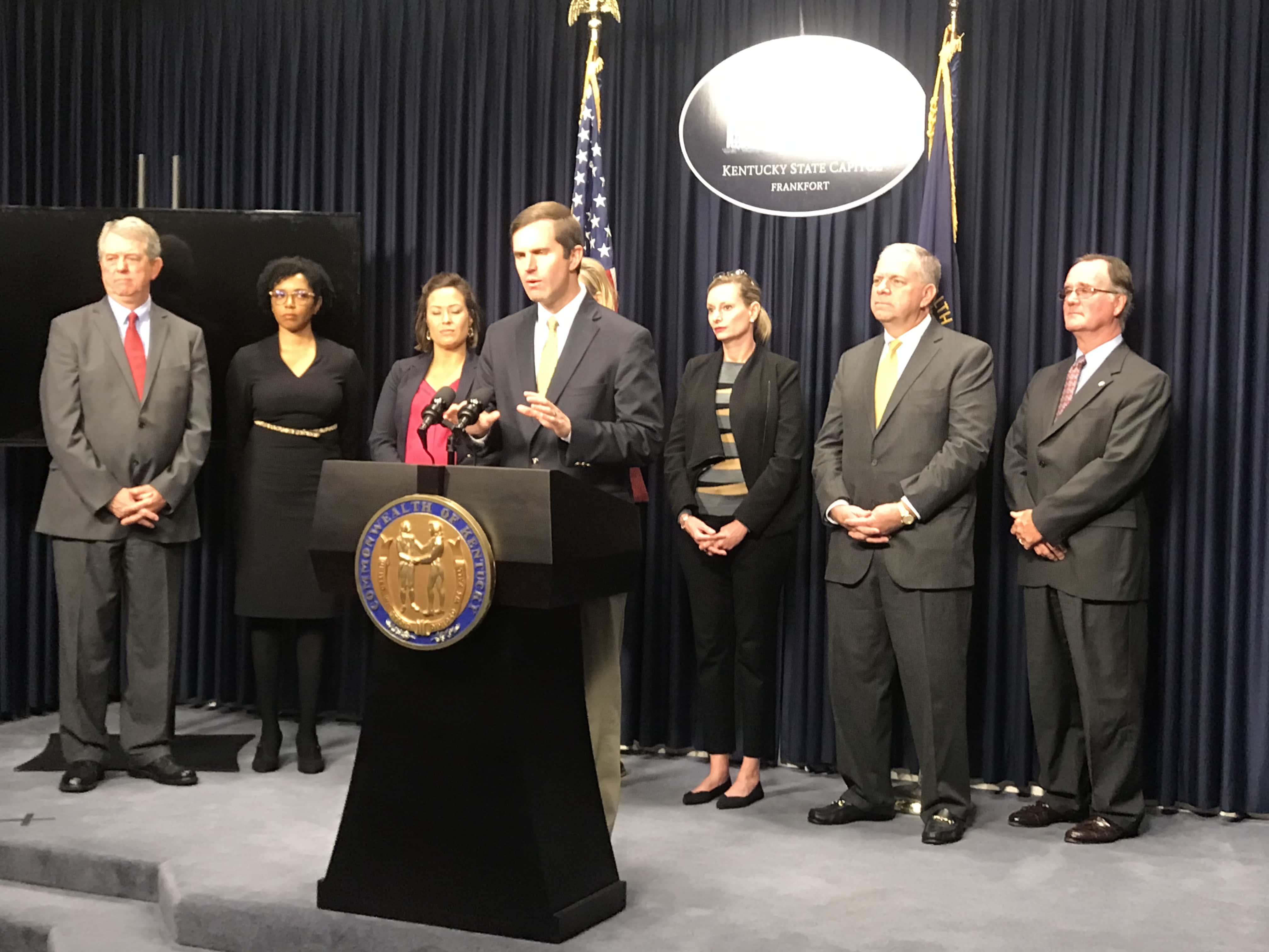 Governor-elect Beshear Announces Cabinet Members | WKDZ Radio